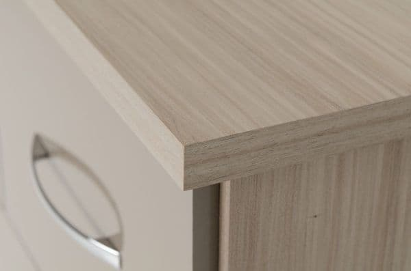 Blanca Oyster 5 Chest of Drawers